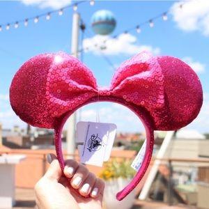 RARE 💕 Disney Imagination Pink Minnie Ears 🐭